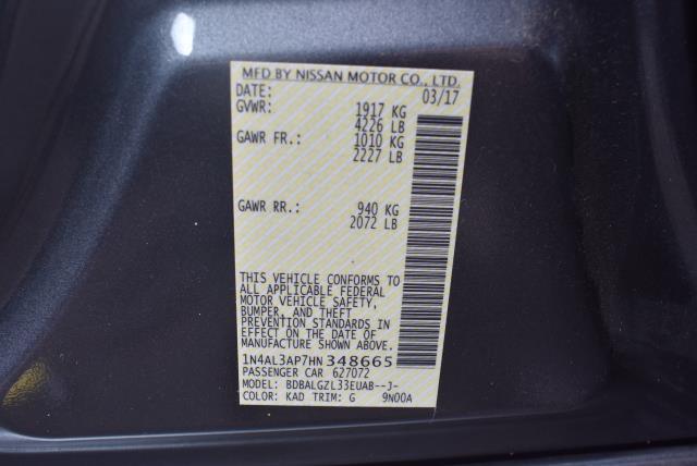 2017 Nissan Altima 2.5 S 28