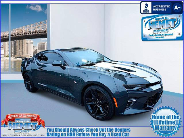 Used 2016 Chevrolet Camaro SS Rear Wheel Drive 2-door Compact Passenger Car. VIN: 1G1FG1R79G0137257 WE WILL TEXT A LINK BACK TO THIS VEHICLE TO VIEW LATER.