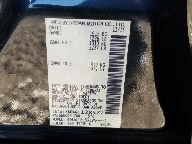 2016 Nissan Altima 2.5 SL 28