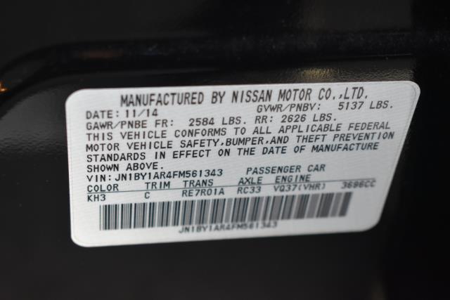 2015 INFINITI Q70 4dr Sdn V6 AWD 10