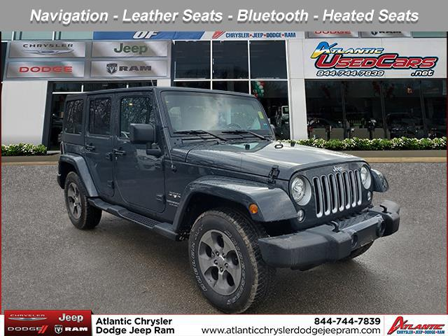 Rhino Clearcoat 2017 Jeep Wrangler Unlimited SAHARA SUV Huntington NY