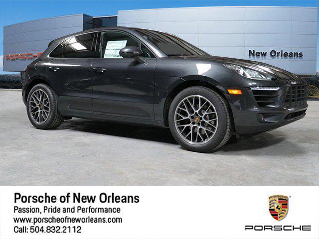 2018 Porsche Macan SPORT EDITION Sport Utility