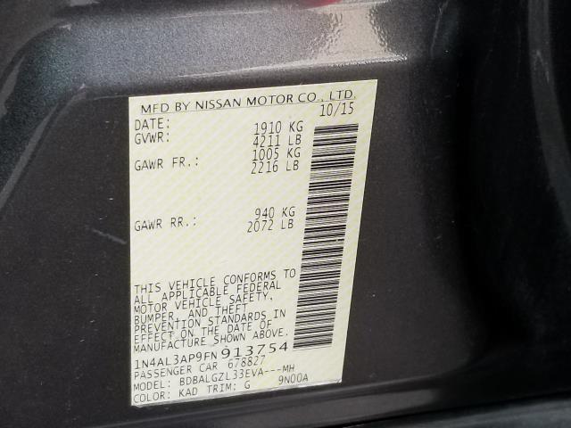 2015 Nissan Altima 2.5 S 28