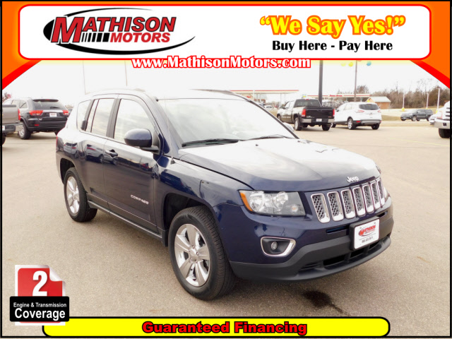 Used JEEP COMPASS 2015 MATHISON High Altitude