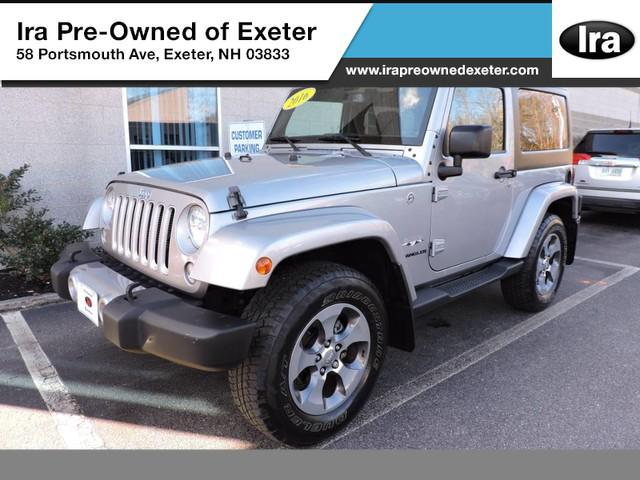 2016 Jeep Wrangler Sahara for sale in Exeter, NH