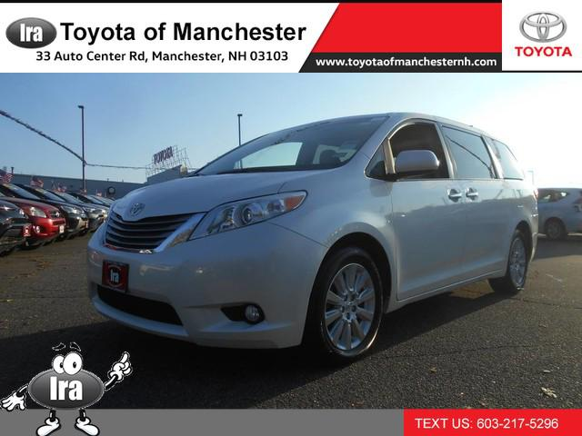 2015 Toyota Sienna XLE for sale in Manchester, NH