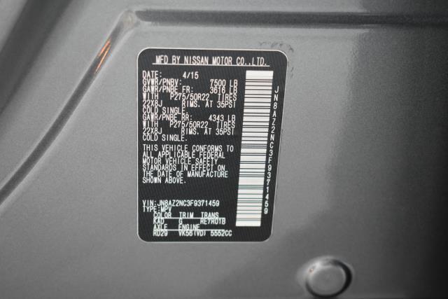 2015 INFINITI QX80 4WD 4dr 12