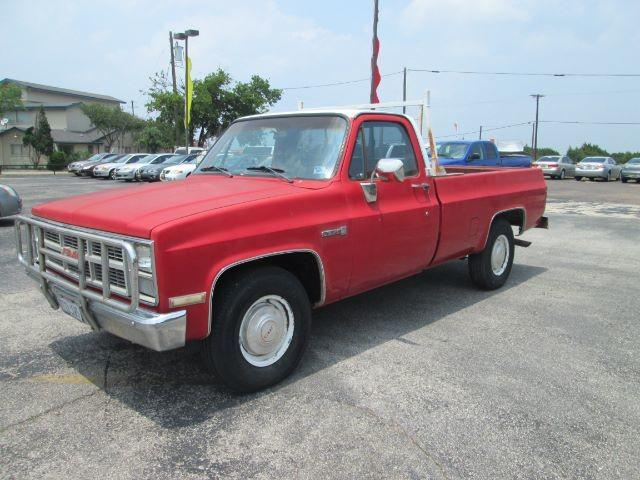 Used GMC C/K-2500 1984 KILLEEN Regular Cab 2WD