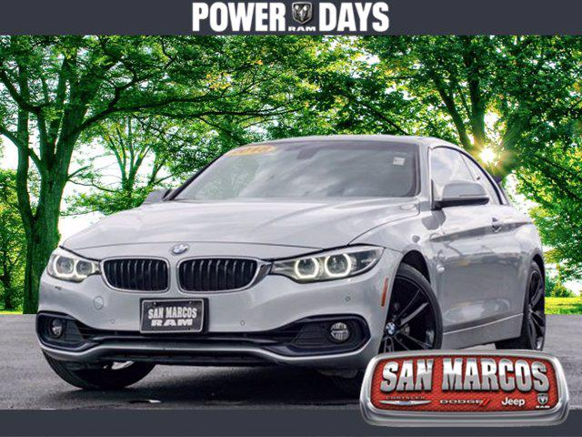 2018 BMW 4 Series 430i for sale in San Marcos, TX