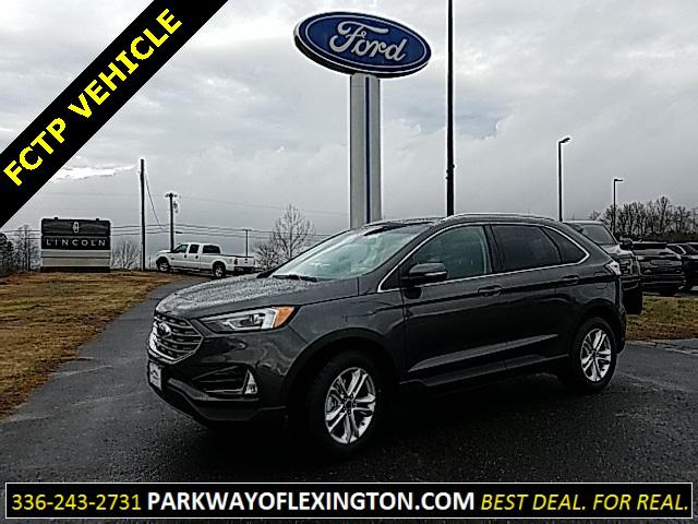Magnetic Metallic 2019 Ford Edge SEL 4D Sport Utility Lexington NC