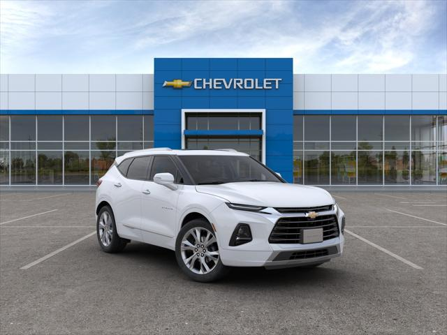 Summit White 2019 Chevrolet Blazer PREMIER SUV Huntington NY