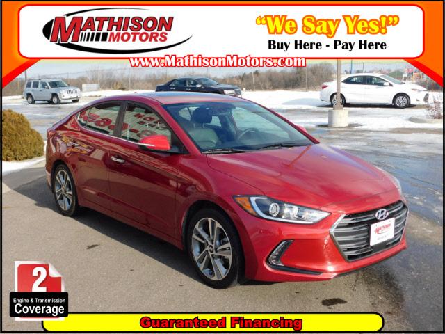 Used Hyundai Elantra 2017 MATHISON Limited