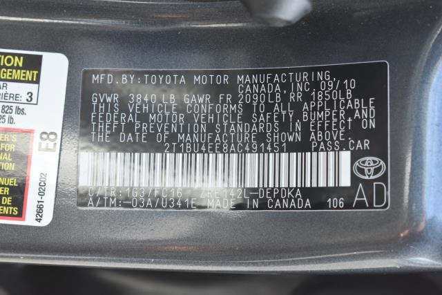 2010 Toyota Corolla LE 15