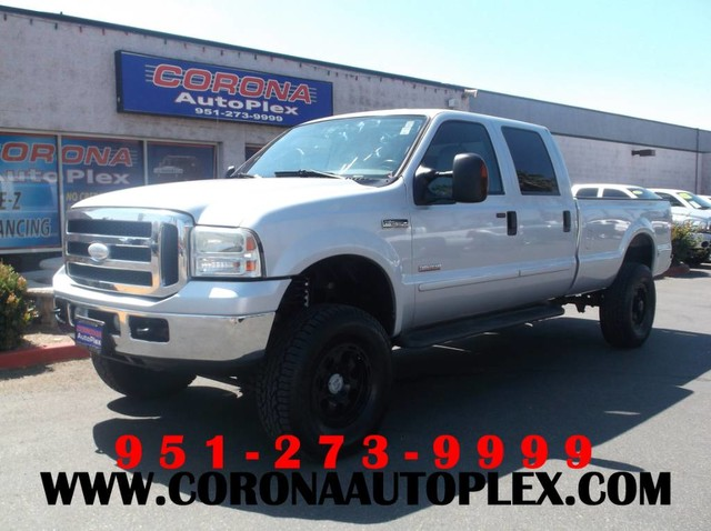 2005 Ford F-250 LARIAT POWER STROKE DIESEL 4X4 LIFTED for sale in Corona, CA