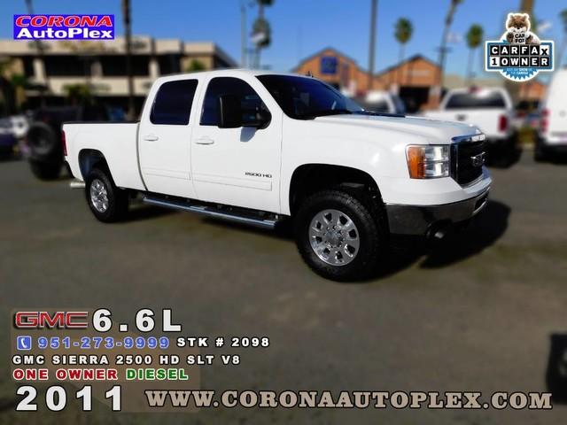 2011 GMC Sierra 2500HD SLT for sale in Corona, CA