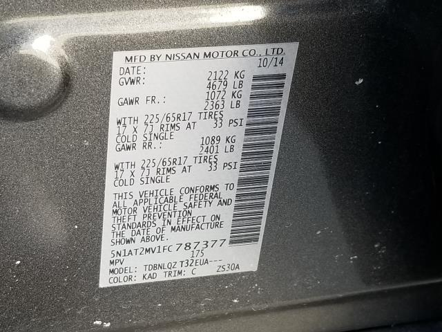 2015 Nissan Rogue SV 28