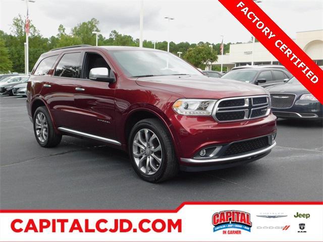 Red 2018 Dodge Durango CITADEL ANODIZED PLATINUM SUV Garner NC