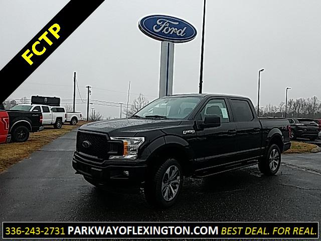 Agate Black Metallic 2019 Ford F-150 XL 4D SuperCrew Lexington NC