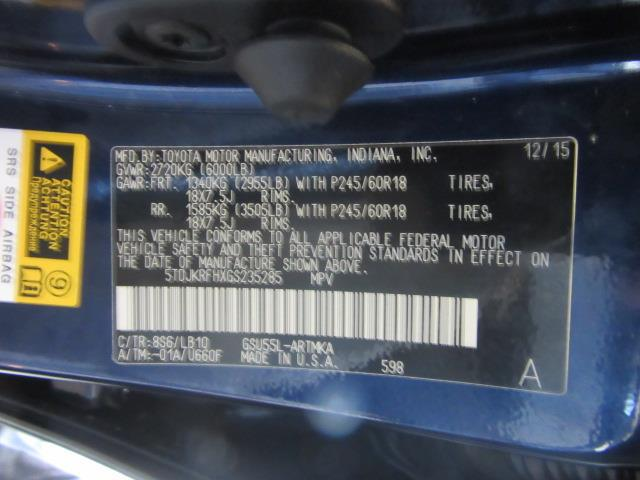 2016 Toyota Highlander XLE 28