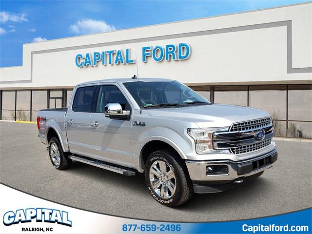 Ingot Silver 2019 Ford F-150 LARIAT 4D SuperCrew Raleigh NC