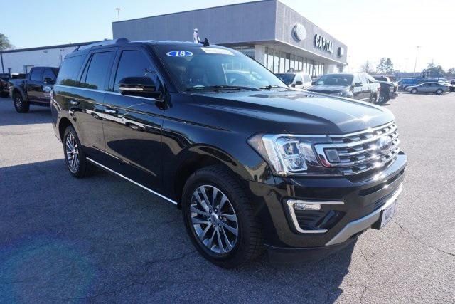 Shadow Black 2018 Ford Expedition LIMITED SUV Rocky Mount NC