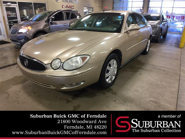 2005 BUICK LACROSSE CX CUSTOMER DIALOGUE NETWORK PAINT SOLID EMISSIONS MAINE