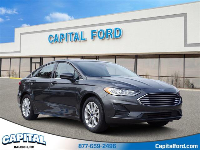 Magnetic 2019 Ford Fusion SE 4D Sedan Raleigh NC
