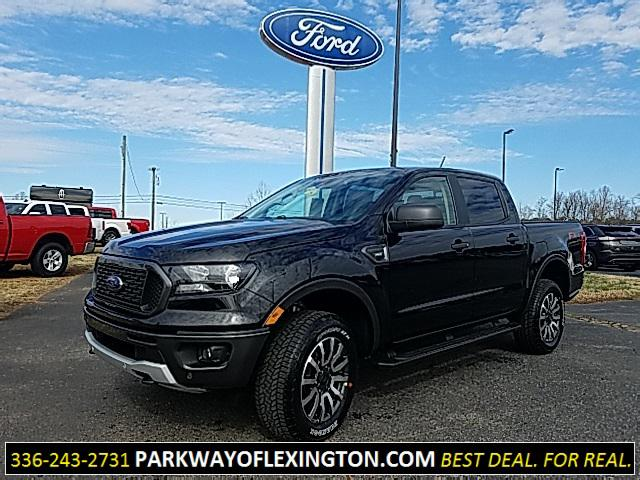 Shadow Black 2019 Ford Ranger XLT 4D Crew Cab Lexington NC