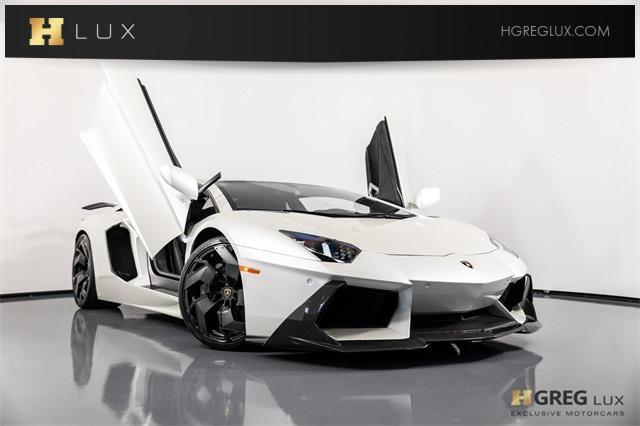 2015 Lamborghini Aventador 2dr Cpe