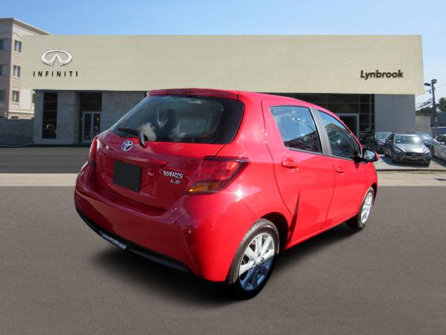 2015 Toyota Yaris LE 2