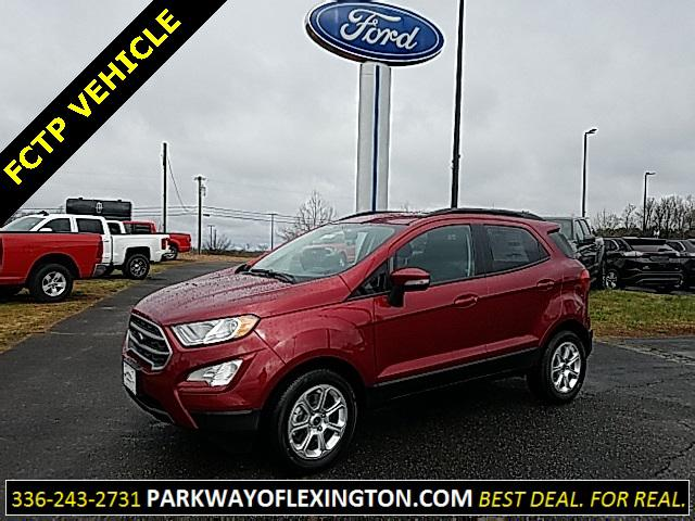 Ruby Red Metallic Tinted Clearcoat 2019 Ford Ecosport SE 4D Sport Utility Lexington NC