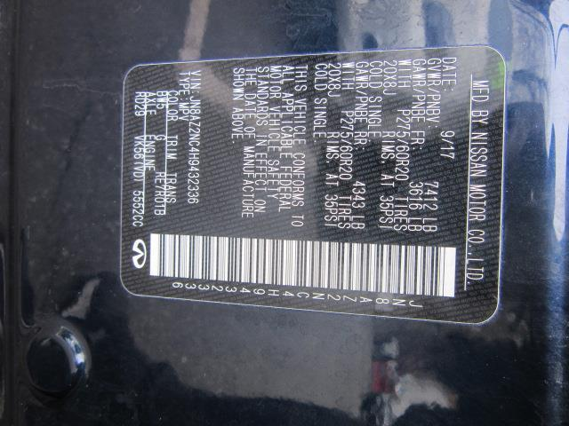 2017 INFINITI QX80 AWD 28
