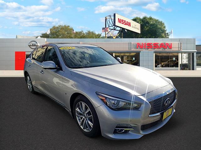 2015 INFINITI Q50 for sale in Queens, New York JN1BV7AR7FM404028