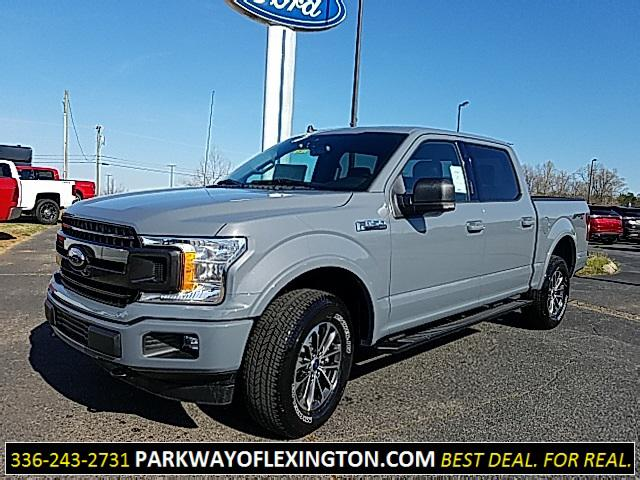 Gray Metallic 2019 Ford F-150 XLT 4D SuperCrew Lexington NC