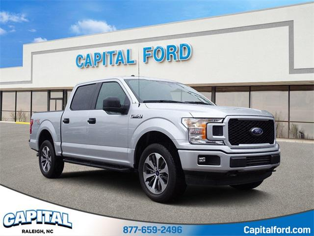 Ingot Silver 2019 Ford F-150 XL 4D SuperCrew Raleigh NC