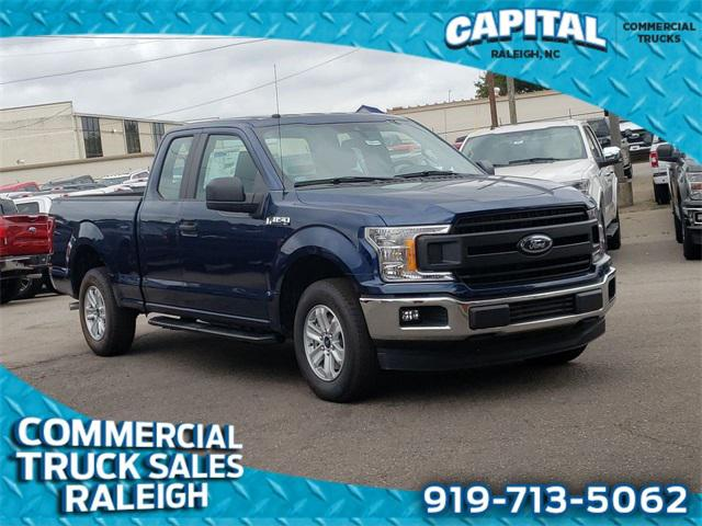 Blue 2019 Ford F-150 XL WORK TRUCK Super Cab Raleigh NC