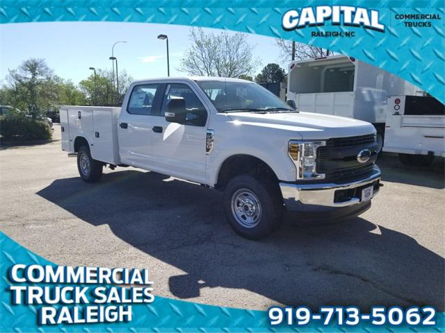 Oxford White 2019 Ford F-250Sd 8FT SERVICE BODY 4D Crew Cab Raleigh NC