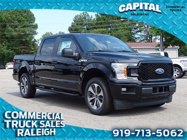 Black 2019 Ford F-150 XL 4D SuperCrew Raleigh NC