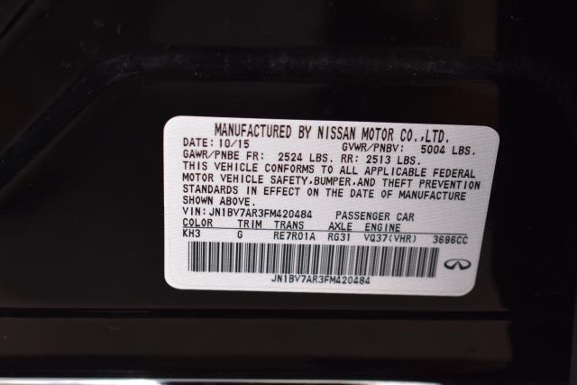2015 INFINITI Q50 4dr Sdn AWD 29