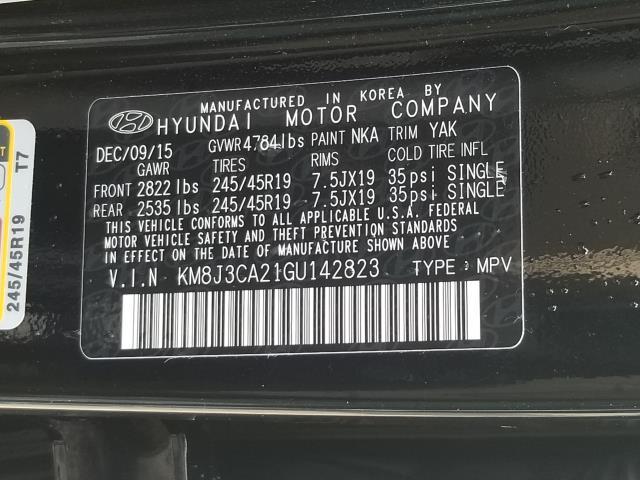 2016 Hyundai Tucson Limited 28