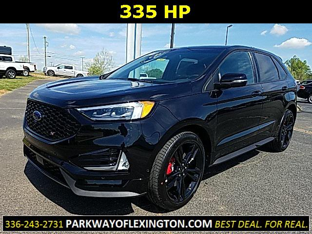 Agate Black Metallic 2019 Ford Edge ST 4D Sport Utility Lexington NC