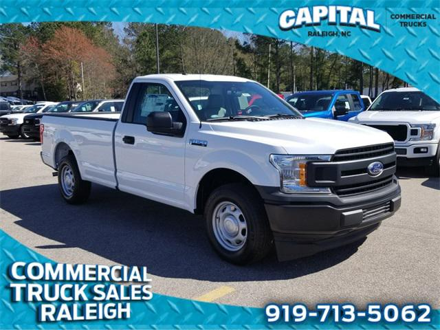 Oxford White 2019 Ford F-150 XL WORK TRUCK 2D Standard Cab Raleigh NC