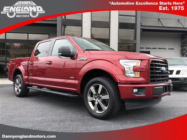 2017 Ford F-150 4WD SuperCrew 5.5' Box for sale in New Tazwell, TN