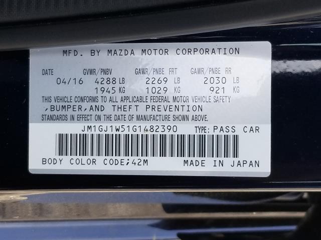 2016 Mazda Mazda6 i Grand Touring 28