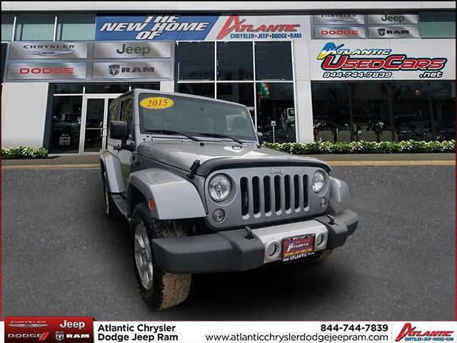 Pre-Owned 2015 Jeep Wrangler Sahara