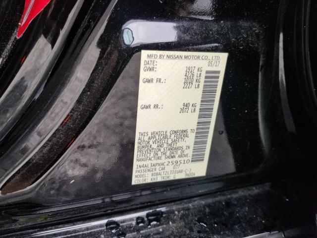 2017 Nissan Altima 2.5 SL 28