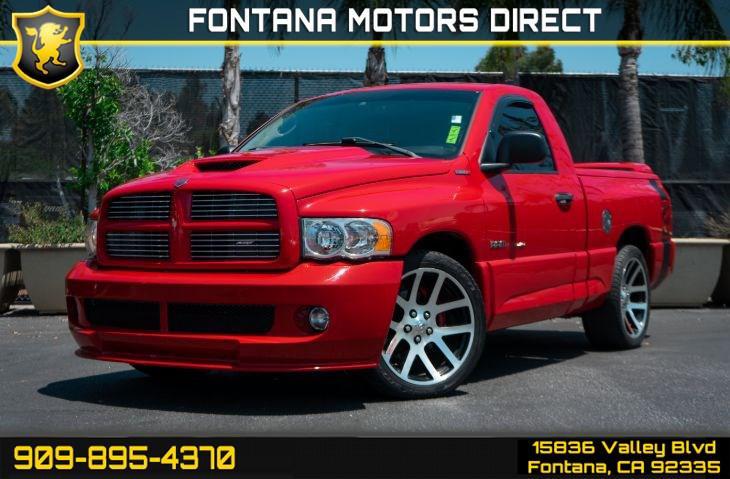 Dodge Ram Srt 10 For Sale >> Used 2004 Dodge Ram 1500 Srt 10 Regular Cab Pickup In Fontana