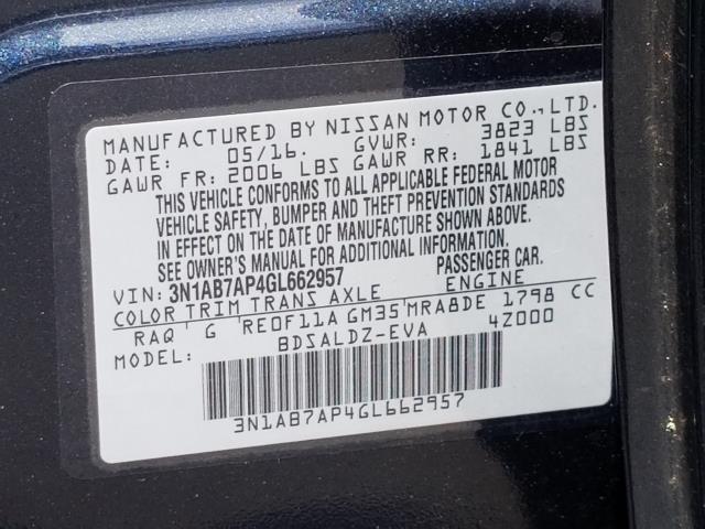 2016 Nissan Sentra SV 28