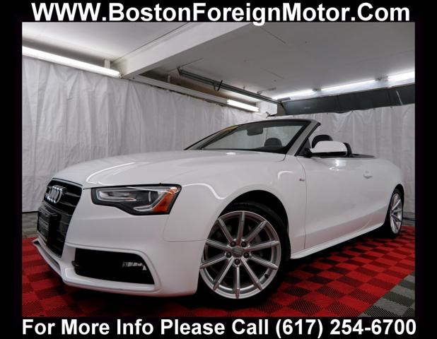 Is Audi A Foreign Car >> Used 2016 Audi A5 2 0t Premium Convertible In Allston Ma Near 02134 Waud2afh8gn001695 Auto Com