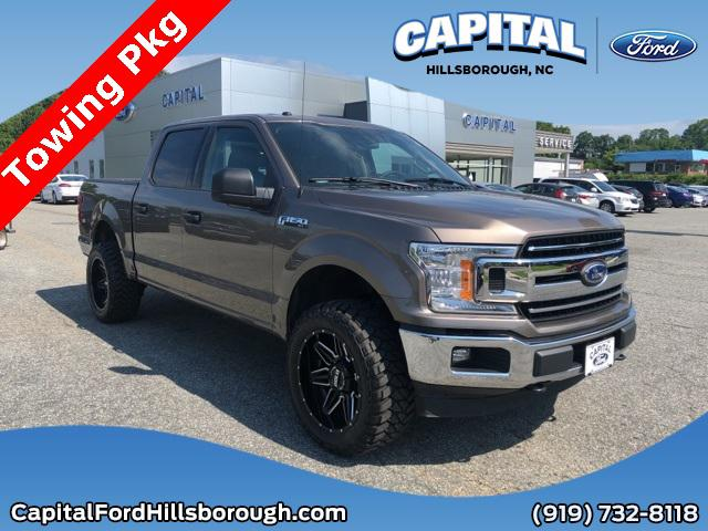 2018 Ford F-150 XLT Crew Pickup Slide